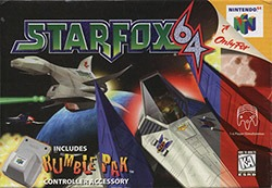 Star Fox 64 Cover Box