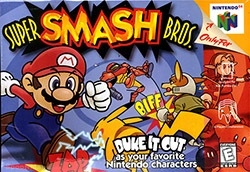 Super Smash Bros. Cover Box