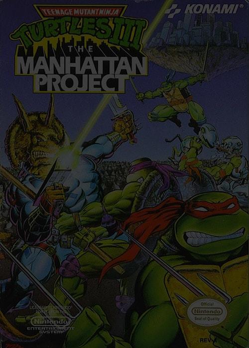 Teenage Mutant Ninja Turtles 3: The Manhattan Project - Nintendo NES