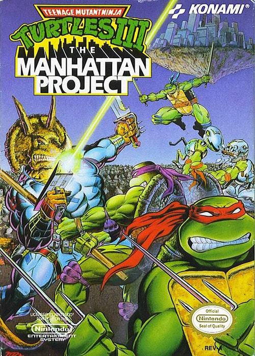 Teenage Mutant Ninja Turtles 3: The Manhattan Project