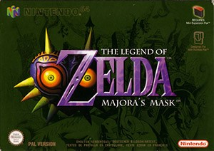 The Legend of Zelda: Majora's Mask Cover Box
