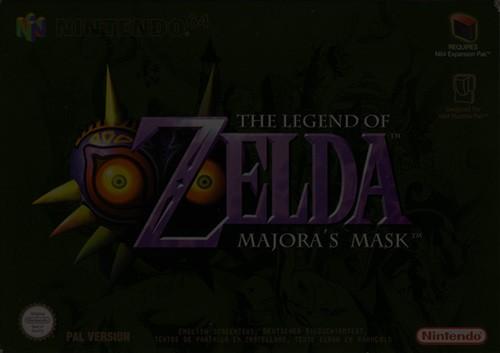 The Legend of Zelda: Majora's Mask - Nintendo 64 (N64)