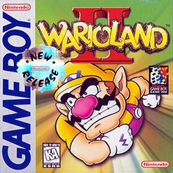 Wario Land 2 Cover Box