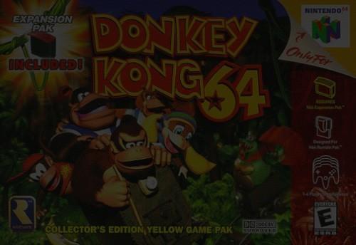 Donkey Kong 64 - Nintendo 64 (N64)