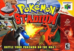 Pokemon Stadium Cover Box