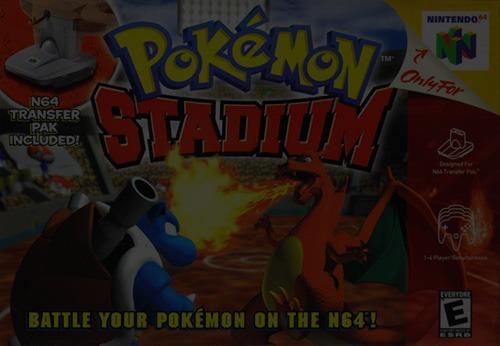 Pokemon Stadium - Nintendo 64 (N64)