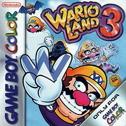Wario Land 3 Cover Box