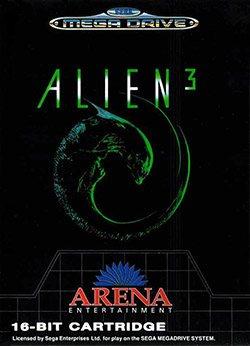 Alien 3 Cover Box