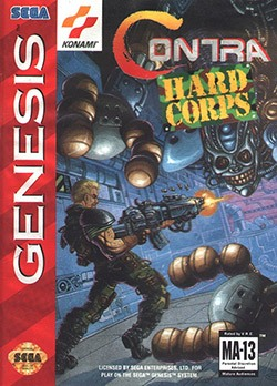 Contra: Hard Corps Cover Box