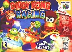 Diddy Kong Racing Cover Box