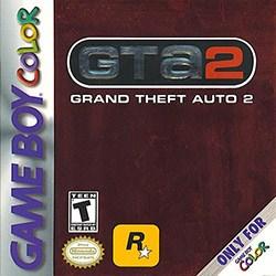 Grand Theft Auto 2 Cover Box