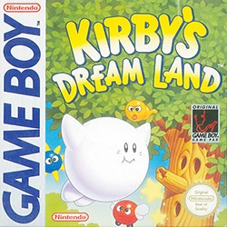 Kirby's Dream Land Cover Box