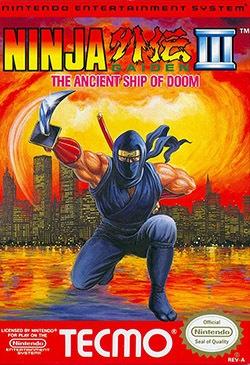 Ninja Gaiden 3: The Ancient Ship of Doom Cover Box