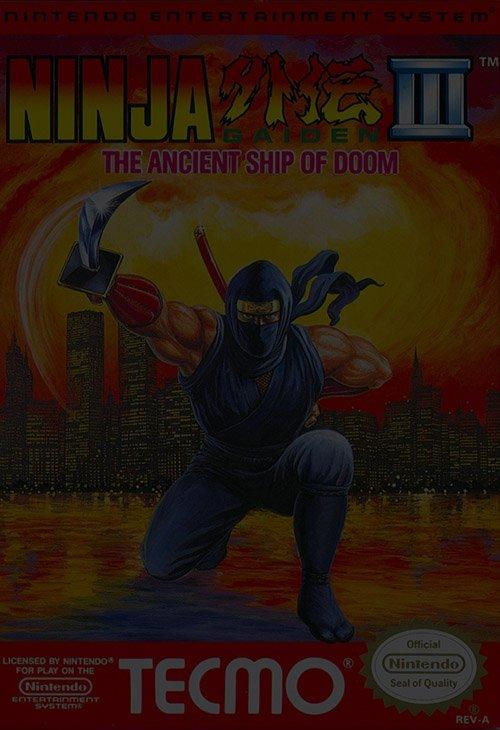 Ninja Gaiden 3: The Ancient Ship of Doom - NES Nintendo