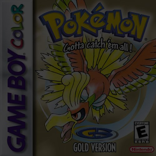 Pokemon Gold Version - Game Boy (GBA)