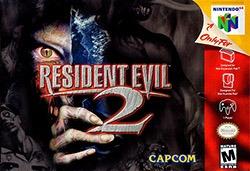 Resident Evil 2 Cover Box