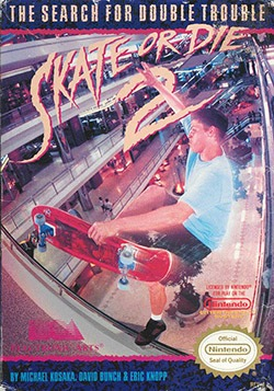 Skate or Die 2: The Search for Double Trouble Cover Box