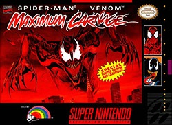 Spider-Man & Venom: Maximum Carnage Cover Box