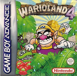 Wario Land 4 Cover Box