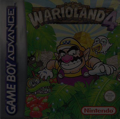 Wario Land 4 - Game Boy (GBA)