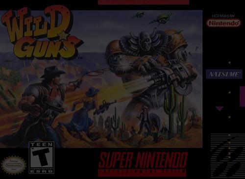 Wild Guns - SNES Super Nintendo