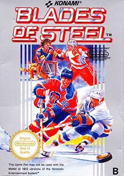 Blades of Steel Cover Box