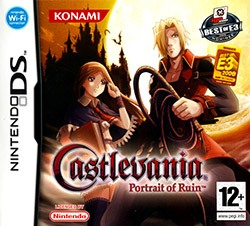 Castlevania: Portrait of Ruin Cover Box
