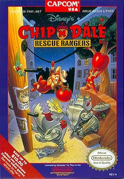 Chip 'n Dale: Rescue Rangers Cover Box