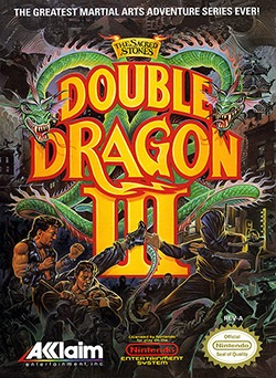 Double Dragon 3: The Sacred Stones Cover Box