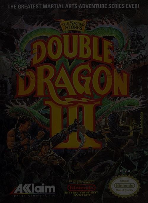 Double Dragon 3: The Sacred Stones - Nintendo NES