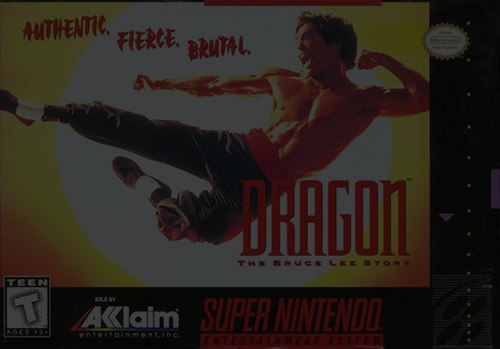Dragon: The Bruce Lee Story - Super Nintendo (SNES)