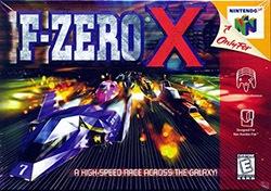 F-Zero X Cover Box