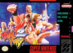Fatal Fury 2 Cover Box