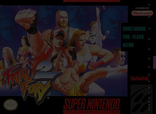 Fatal Fury 2 - Super Nintendo (SNES)