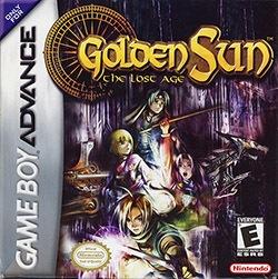 Golden Sun 2: The Lost Age Cover Box