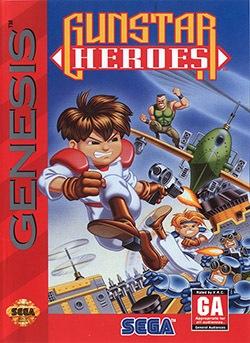 Gunstar Heroes Cover Box