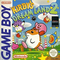 Kirby's Dream Land 2 Cover Box