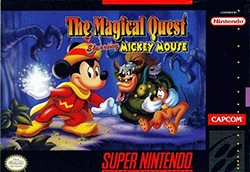 The Magical Quest starring Mickey Mouse Cover Box