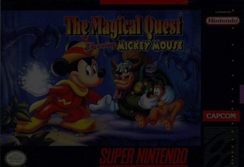 The Magical Quest starring Mickey Mouse - Super Nintendo (SNES)