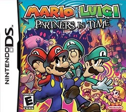 Mario & Luigi: Partners in Time Cover Box