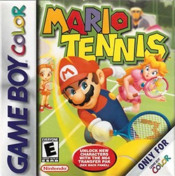 Mario Tennis Cover Box