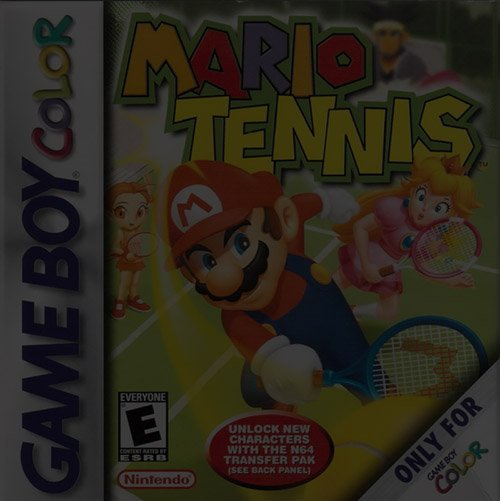 Mario Tennis - Game Boy (GBA)