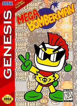 Mega Bomberman Cover Box