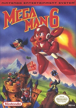 Mega Man 6 Cover Box
