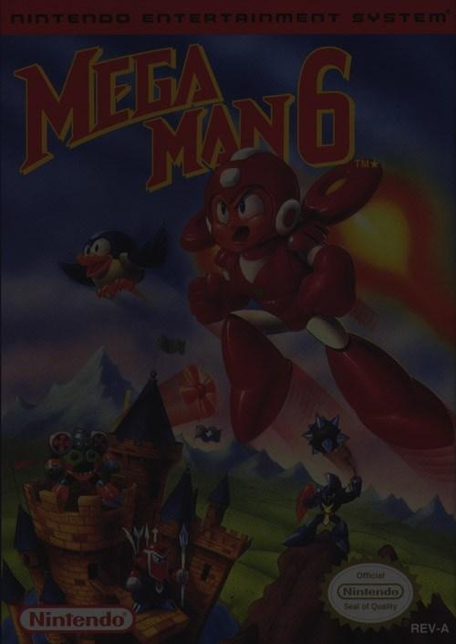 Mega Man 6 - Nintendo NES