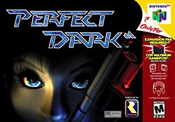 Perfect Dark Cover Box