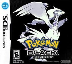 Pokemon Black Version Cover Box