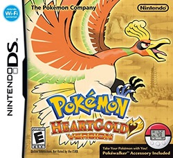 Pokemon HeartGold Version Cover Box