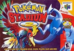 Pokemon Stadium 2 Cover Box