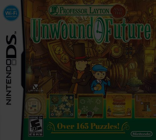 Professor Layton and the Unwound Future - NDS Nintendo DS